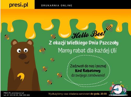 Pozdrowienia od Pszczoły dla Misia i Uli od Presi.pl