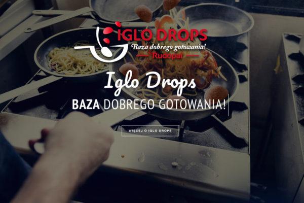 Logo brandu Iglo Drops